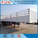 op zwaar werk berekende Vrachtwagen van de Aanhangwagen van het Vervoer van de Lading van 12.5m de Semi met het Slot van de Container voor Multifunctioneel