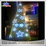 Kerstbomen van het Metaal van de toren de Reuze Openlucht Commerciële Aangestoken Openlucht Lange
