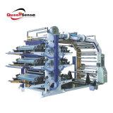 Six pile flexographique Machine d'impression couleur
