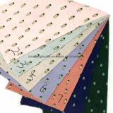Tissu 100%Cotton estampé pour des vêtements d'enfants de jupe d'écharpe de robe