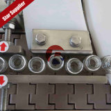 Máquina de relleno y que capsula del cuentagotas de cristal del certificado del Ce