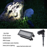 CE, RoHS IP67 del jardín del RGB LED Light Underground