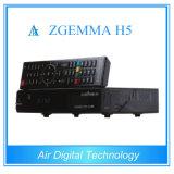 Zgemma 가장 새로운 텔레비젼 암호해독기 DVB S2 + DVB T2/C 지원 Kodi Hevc/H. 265