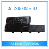 Самый новый дешифратор DVB Zgemma TV S2 + поддержка Kodi Hevc/H. 265 DVB T2/C