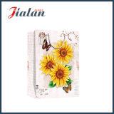 Förderung-Großhandelssonnenblume-4c gedruckter kaufenträger-Geschenk-Papierbeutel