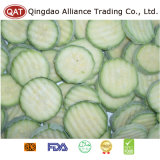 IQF gefrorene geschnittene grüne Zucchini