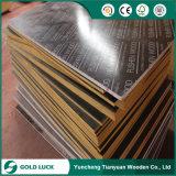 中国の製造業者の防水接着剤の黒かブラウンのフィルムは合板に直面した