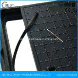 Pt124 D400 China Fornecedor Navio de plástico da tampa de inspeção com a Estrutura