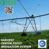 Sistema de irrigación grande de regadera del arma para la pista de la agricultura/el sistema de irrigación agrícola del pivote del centro del uso