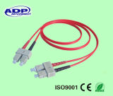 10GB Sc/LC 50/125um Om3 Duplex 2.0mm Fiber Optic Patch Cord