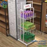 La pantalla metálica para rack de supermercado y tienda de Tienda minorista