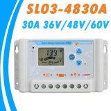 regolatore di carico solare SL03-30A di 30A 12V/24V Li Battery&USB-5V