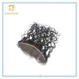 Spitze-Stirnbein der Qualitäts-Vor-Zupfen brasilianisches Jungfrau-13*4 mit Haar-Zeile und schnelle Anlieferung Lf-003