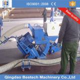 Máquina de desincrustación/que elimina de la placa de acero del uso del chorreo con granalla