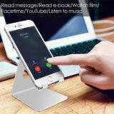 Carrinho Desktop do telefone móvel do berço do carrinho do iPhone 8 do carrinho do iPhone X da pilha para o interruptor todo o Smartphone