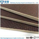La película de color marrón antideslizante frente encofrados contrachapado para la construcción usa