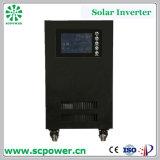 6kVA 50Hz/60Hz 4800W 220 볼트 순수한 사인 파동 태양 에너지 변환장치