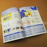 Service d'impression de livre de brochure de livret explicatif d'impression de catalogue de Stich de selle