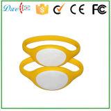 диаметр 74mm или 65mm Wristband кремния 13.56MHz ISO14443A