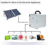 Sistema Solar Incluindo Painel Solar e Lâmpada Telefone Celular Carregando Sistema Solar