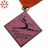 Изготовленный на заказ медали танцульки балета Desgin с тесемкой
