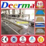 A linha de produção de azulejos do piso de PVC / Forro de PVC linha de extrusão
