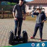 Individu de 21 pouces équilibrant le scooter électrique de gros pneu de 1266wh 72V 4000W