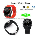 Teléfono elegante del reloj de Bluetooth de la pantalla táctil (W8)