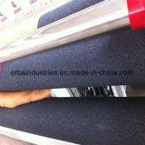 Rampier Rolle, die Gummistreifen-Bänder abdeckt