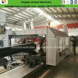 Le plastique de HDPE de Dwc siffle la chaîne de production de pipe de machines \ évacuation d'extrudeuse