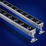Wasserdichtes IP65 Anti-UVRGB DMX im Freien Aluminiumstreifen-Wand-Unterlegscheibe-Licht