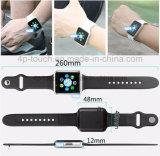 Teléfono elegante del reloj de la aptitud más barata 2017 con la viruta Mtk6261 y la cámara A1