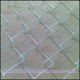 高品質は使用されたチェーン・リンクの塀に電流を通した