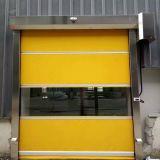 Portelli ad alta velocità industriali della saracinesca del PVC, rotolamento veloce del tessuto di plastica automatico sul portello (HF-1041)