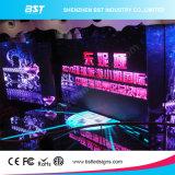 Taux de rafraîchissement élevé P3.91mm Affichage LED de location d'intérieur