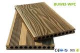 Наружные защитные элементы экологической древесины и Композитный пластик декорированных