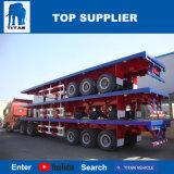 Het Voertuig van de titaan - Drie Assen 40 van de Vlakke Ton Aanhangwagen van de Vrachtwagen voor Verkoop