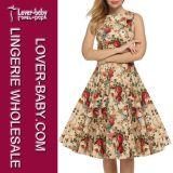 Sleeveless Frauen-Großhandelskleid und Kleidung (L36107-1)