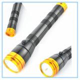 GoldHead&Cap hohe Fokus-lange Reichweiten-heiße Verkaufs-Taschenlampe
