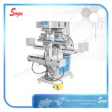 단화 기계장치를 위한 기계를 인쇄하는 두 배 색깔 발뒤꿈치 패드