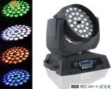 36PCS*10W LED는 그의 맨 위 염색한 빛을 동요했다