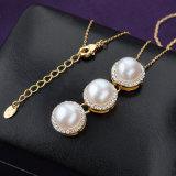 卸し売り新しいデザイン方法宝石類の吊り下げ式の真珠のネックレス