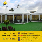 Double Doors Glass Pagoda Tent for Salts (hy290j)