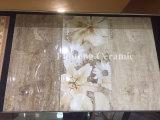 De beige Verglaasde Tegel van de Muur van de Badkamers van Inkjet Ceramische