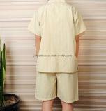 卸し売り安く100%年綿の浴衣、サウナのスーツ、シャワーローブの