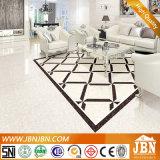 90光沢ライン石パターン白いカラー磁器の床タイル(J6M00)