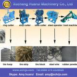 Gummireifen, der Gummipuder herstellt maschinell zu bearbeiten/Reifen-Zerkleinerungsmaschine mit Ce/Tyre Abfallverwertungsanlage