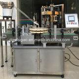 Máquina de aluminio roscada automática de la cápsula de la tapa de los casquillos
