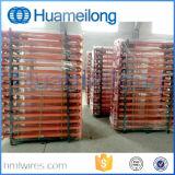 Lager-stapelbare Stahlgummireifen-Zahnstangen