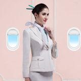 Frauen-reiner Farben-Qualitäts-Flugliniestewardess-konstanter Smoking
